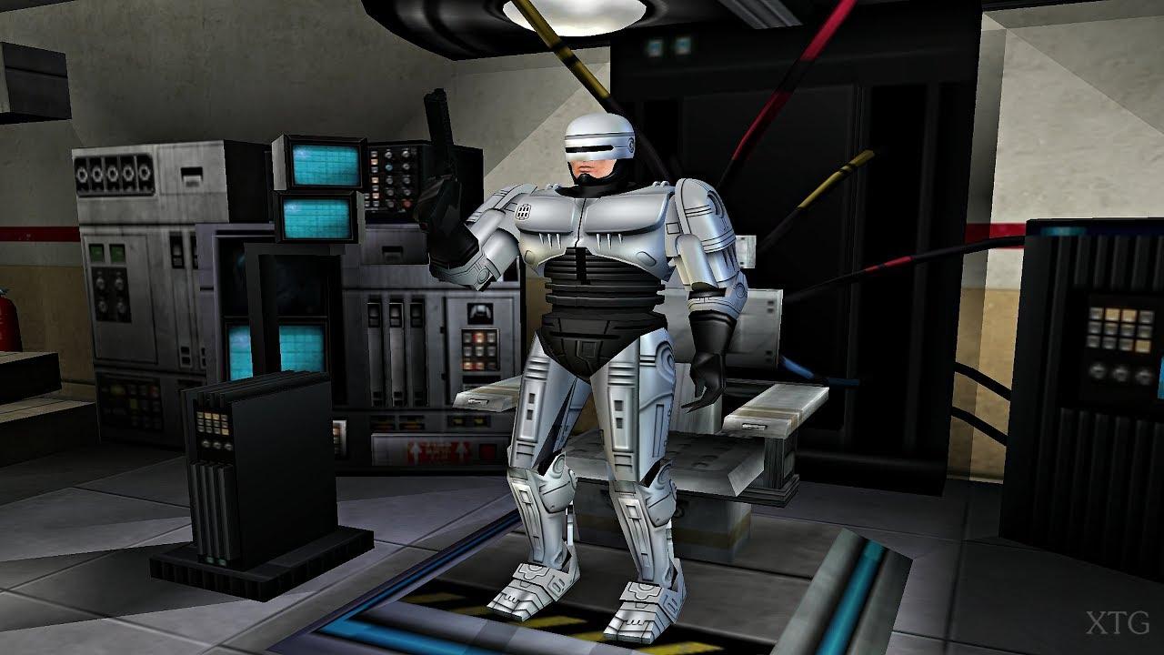 RoboCop PS2 Gameplay HD (PCSX2)