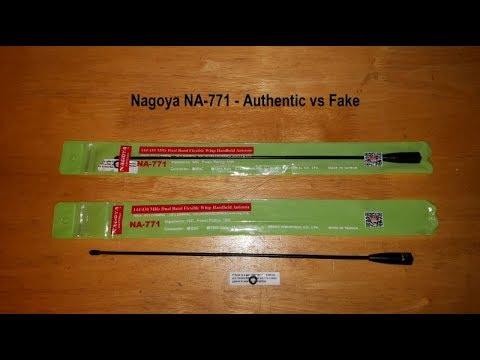 Nagoya NA-771 - Authentic vs Fake