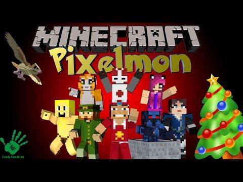 Minecraft: Santa On The Toilet - NF Family Pixelmon Server (Pokemon Mod)