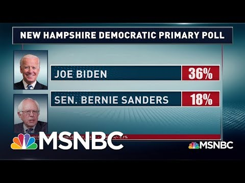 "Sanders Laughs At Biden Being Called ""The Most Progressive"" Candidate 
