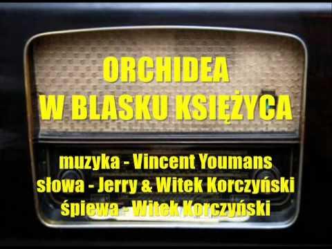 ORCHIDEA W BLASKU KSIĘŻYCA