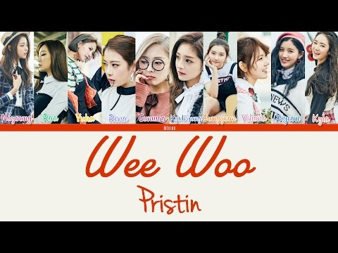 Free Download Pristin - Wee Woo Color Coded Lyrics Han/rom/eng Mp3 dan Mp4