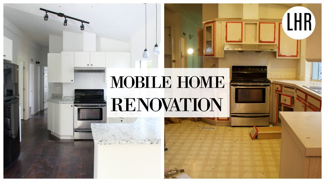 Modern Farmhouse Mobile Home Remodeling Before And After Youtube,How Much Does It Cost To Paint A Brick House Yourself