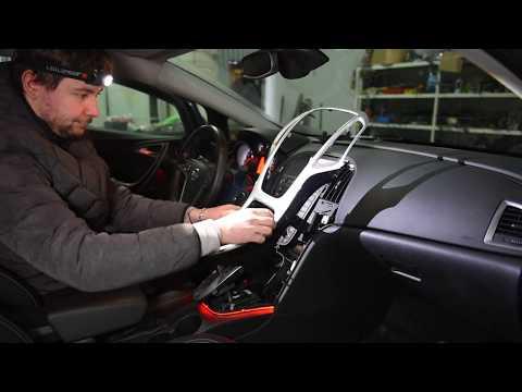 Opel Astra J - Заменили Navi 600 на Navi 950 с сенсорным экраном , поставили камеру заднего вида.