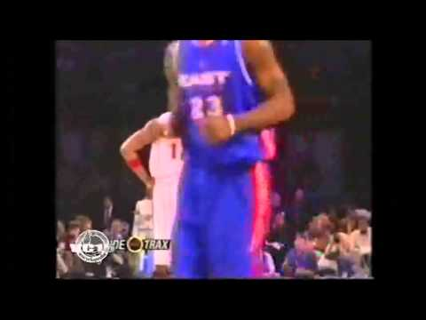 FUNNY NBA VC vs TMAC conversation NBA all star game 2005