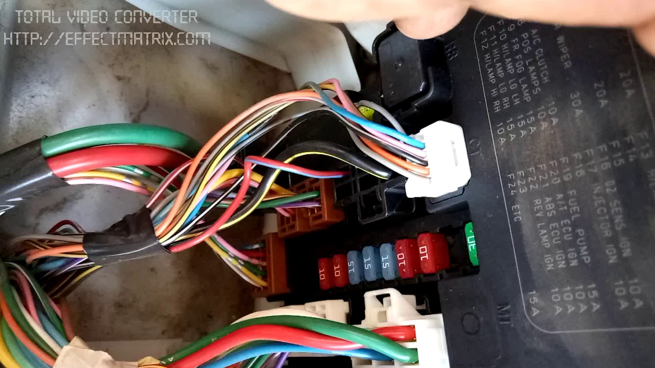 small resolution of nissan ad 2011 main fuse box