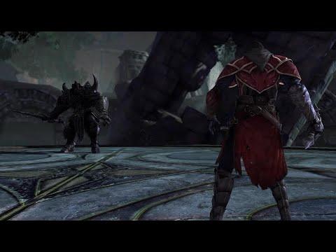 Castlevania  Lords of Shadows - Gabriel Belmont vs Black Knight Golem |