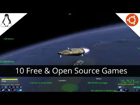 Top 10 Most Awesome & Obscure Free and Open Source Linux Games