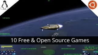 Top 10 Most Awesome & Obscure Open Source Linux Games
