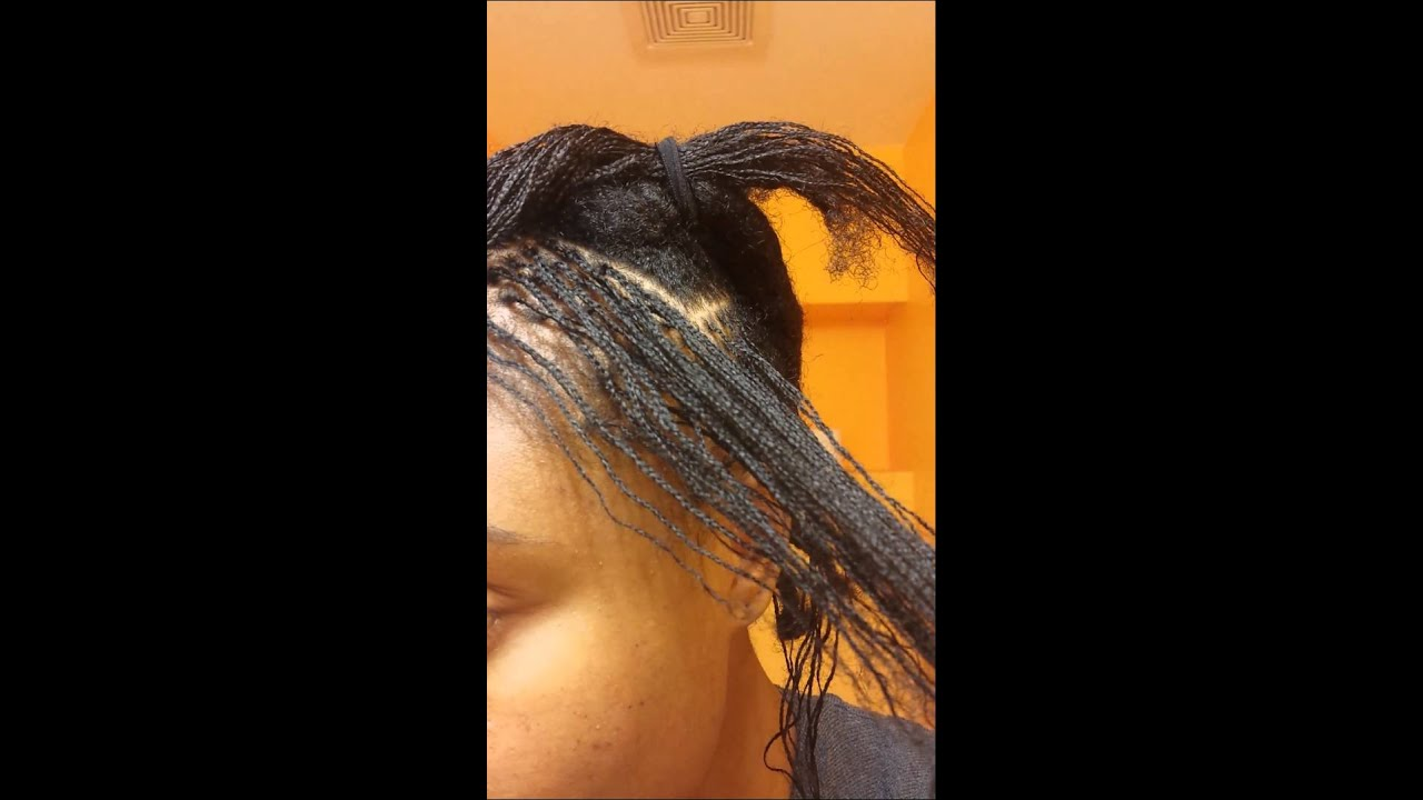 D i y micro braidlocs install youtube for D i y bathroom installations
