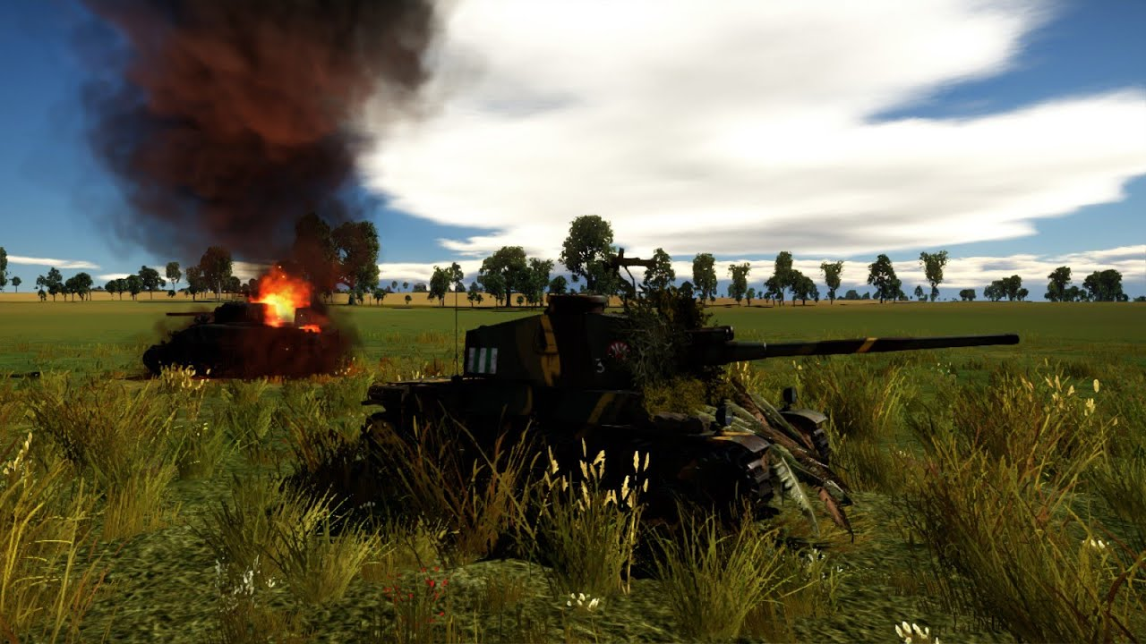 War Thunder - Chi-Nu II Gameplay (No commentary) - YouTube