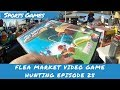 Flea Market Video Game Hunting (Ep. 25) Sports Games