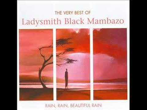 Ladysmith Black Mambazo - Mbube Wimoweh - Africa, donde Dios canta.