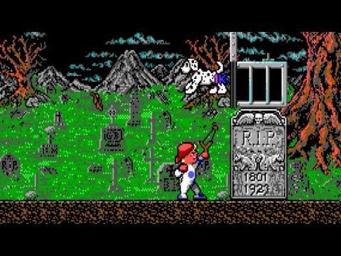 Monster Bash · PC MS-DOS Platform Game