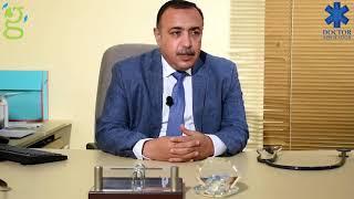 د.عبداللطيف حموده يعرض طرق انتقال العدوي بفيروس سي