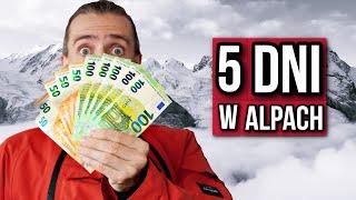 Ile kosztują BUDŻETOWE ferie zimowe w Alpach