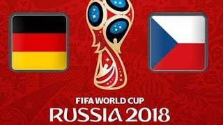 Germany vs Czech Republic FIFA World Cup qualification 2018