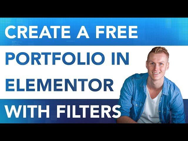 How To Create A Portfolio Using Elementor