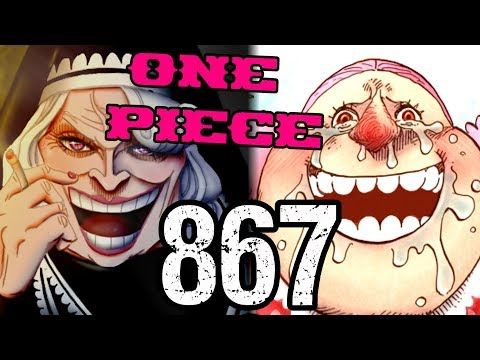 """One Piece Chapter 867 Review """"Yummy in Her Tummy"""""""