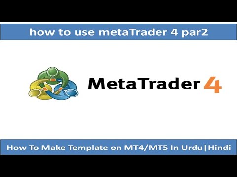 how-to-make-template-on-mt4/mt5-in-urdu|hindi-part-2