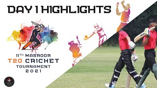 11th Masroor T20 Cricket Tournament | Day 1 | Official Highlights