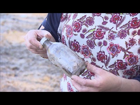 Woman Finds Message in a Bottle Tossed Into Water 35 Years Ago