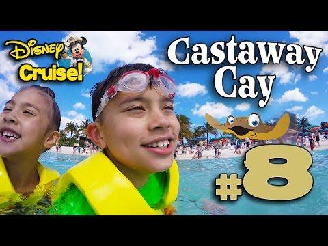 CASTAWAY CAY - PELICAN PLUNGE Water Slide!  4K Disney Cruise Adventure PART 8