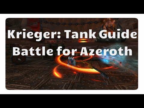 WoW Schutz-Krieger Guide für Battle for Azeroth