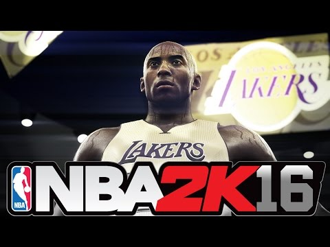 NBA 2K16 - Official Kobe Bryant Farewell Trailer and Gameplay