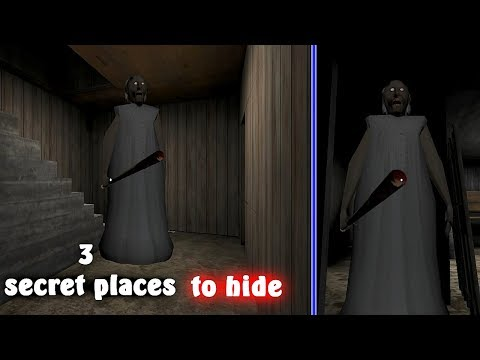 3 Secret Places To Hide In Granny - New Update -