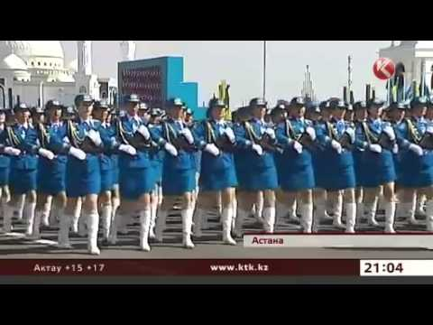 Kazakhstan Flexes Military Muscle with Biggest Ever Military Parade for 'Red Army Day'