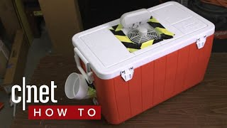 Beat the summer heat with this DIY air conditioner
