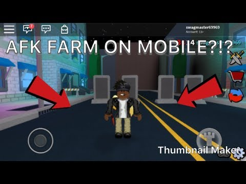 How Long Can You Be Afk On Roblox How To Afk Farm On Mobile Roblox Assassin Youtube