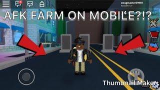 wie man afk Farm auf dem Handy!!! (Roblox-Attentäter)