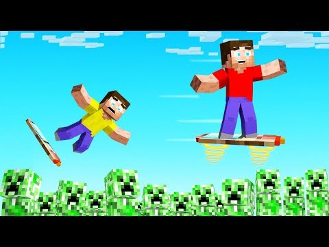 Minecraft NEEDS To ADD These HOVERBOARDS!
