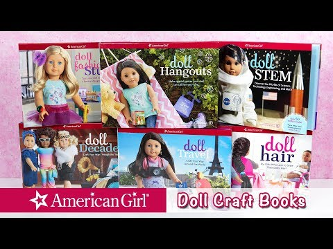 American Girl Doll Craft Books Haul & Review ~ Summer Reading Specials