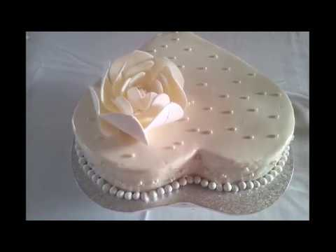 12th Wedding Anniversary Cake Pearls Modern Symbol Youtube