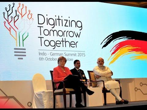 PM Modi at Business Forum organized by NASSCOM & Fraunhofer Institute, Bengaluru