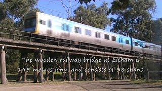Eltham Trestle Bridge 31/3/11