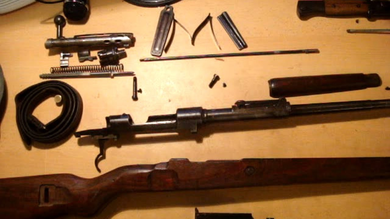 How to disassemble and assemble a Kar98K rifle  YouTube