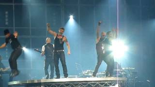 [HD] NKOTBSB 2011 TOUR: NKOTB - You Got It (The Right Stuff) & BSB - Larger Than Life [LIVE]