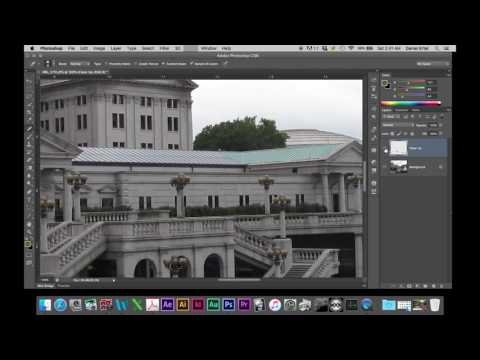Pennsylvania Capital Building Retouching Tutorial Part 1