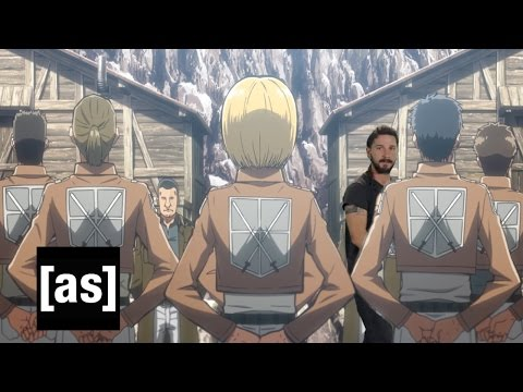 Shia LaBeouf Motivational Speech: Toonami Edition | Toonami | Adult Swim