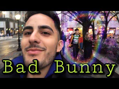 Me encontré a BAD BUNNY en New York