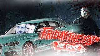 EPICKA UCIECZKA AUTEM! | Friday the 13th: The Game [#4] (With: Ekipa) #Bladii #Po polsku #Zagrajmy w
