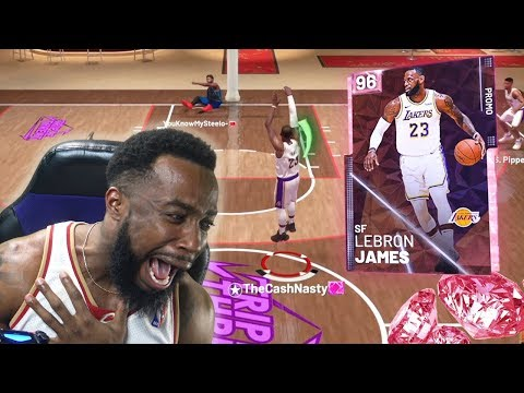 PINK DIAMOND LEBRON JAMES DISGRACE! NBA 2K19 MyTeam thumbnail