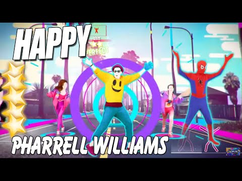 Happy - Just Dance Wiki |Happy Pharrell Williams Just Dance