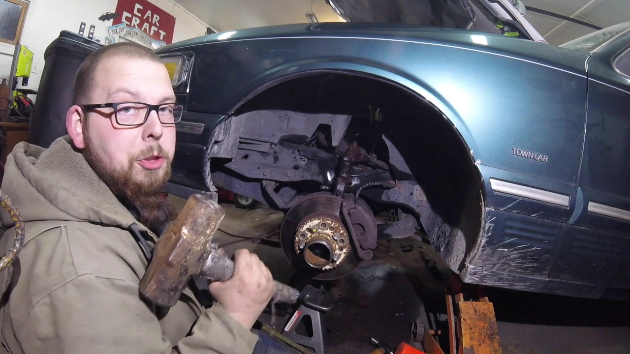 Lincoln Towncar Hydraulic Install Youtube