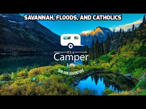 Savannah, Floods, and catholics