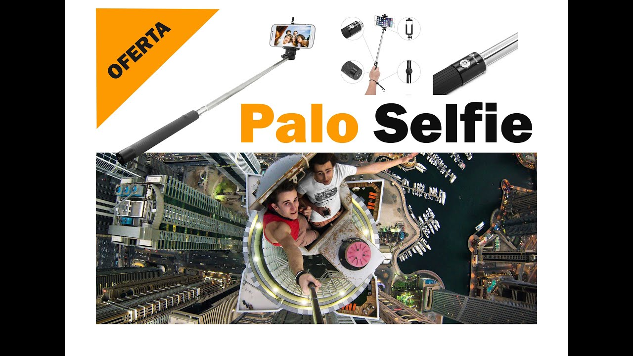 comprar palo selfies bluetooth muy barato oferta iphone android youtube. Black Bedroom Furniture Sets. Home Design Ideas